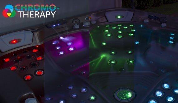 LED Farblichttherapie für Whirlpools (PeakLine)
