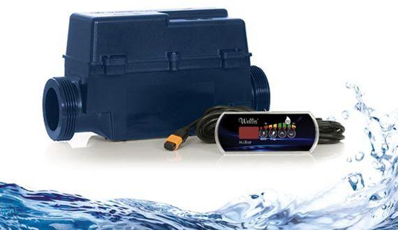 """""""InClear"""" – automatische Salzwasser Desinfektion für Whirlpools"""