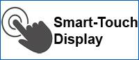 whirpool ausstattung smart touch display