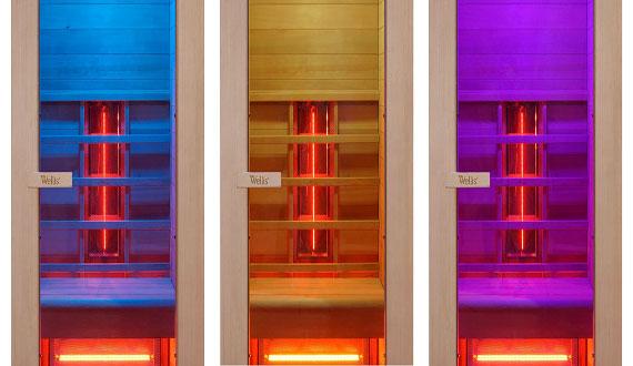 Große LED-Farblichttherapie