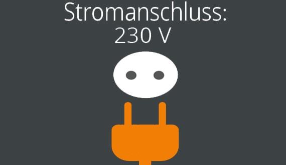 stromanschluss 230v