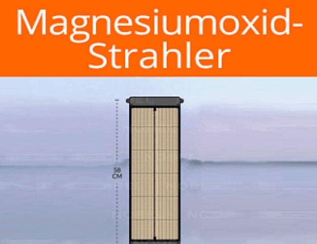 magnesiumoxid strahler